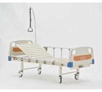 Кровать c механическим приводом Belberg 17B-1Л, 1 функция ПЛАСТИК (столик в подарок)