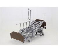 Кровать с электроприводом Belberg 11A-121ТН,спинки ЛДСП, Венге, 5 функц (без матраса+столик)
