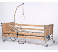 Кровать электрическая 4х секционная Vermeiren LUNA Basic (с матрасом)