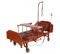 Кровать с электроприводом Belberg 3-092ПН 3 функции с туалетным устройством ЛДСП (матрас, противопролежневым матрас, столик)