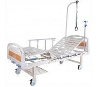 Кровать c механ.приводом Belberg 8-20H, 2 функции ПЛАСТИК (без матраса+столик)