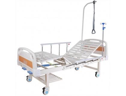 Кровать c механ.приводом  8-2014Д-04, (8-18H), 2 функции ПЛАСТИК (без матраса)