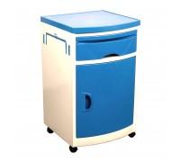 Тумбочка прикроватная МЕТ ТK-110 цвет синий (15838)