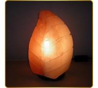 Соляная лампа Лист (3,6-3,9 кг)