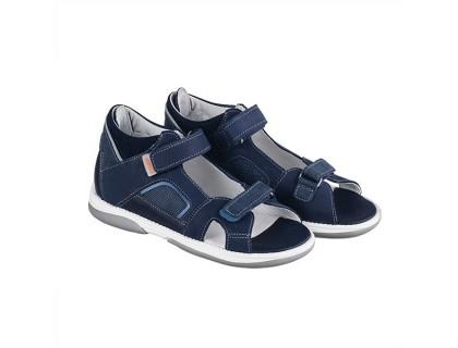 Детская профилактическая обувь CAPRI тёмно-синий DRMC 1DA нубук