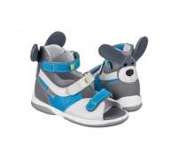 Детская ортопедическая обувь KANGAROO серо-синий DRMC 3CH