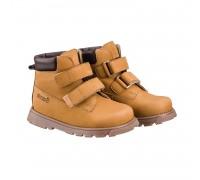 Детская ортопедическая обувь  MALMO на липучках бежевый DRMB 1FD НУБУК