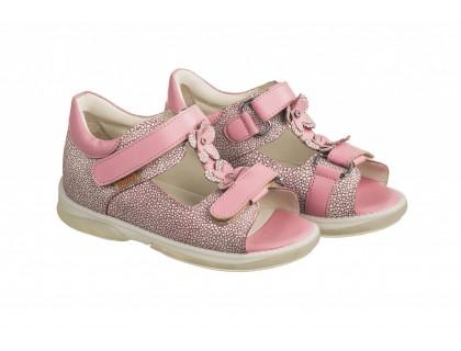 Детская ортопедическая обувь  VERONA розовый DRMC 3JB КОЖА