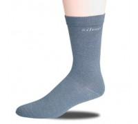 Диабетические носки Ihle с серебряной нитью черные 40002001