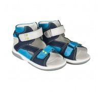 Детская профилактическая обувь MONACO темно-синий-голубой DRMC 1DA