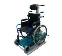 Гусеничный подъемник БАРС УГП-130-3 для электрических колясок (с платформой и пандусом)