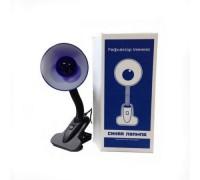 Рефлектор лампа Минина (синяя лампа) на прищепке