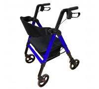 Роллаторы на четырех колесах Ortonica XR 202 (XR 201 new) ПГП до 220 кг (повыш грузопод) цвет синий