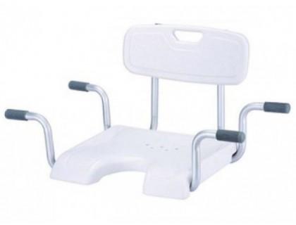 Сиденье со спинкой для инвалидов для ванны Kamille LY-200-5016W