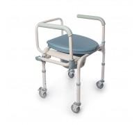 Кресло-туалет Санитар-06 с колесами (производство РФ)