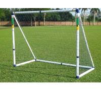 Ворота игровые DFC GOAL7244A 8ft Sports сетка