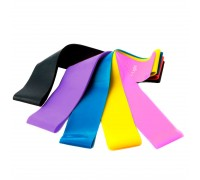 Набор фитнес-резинок Flex Set (5 эластичных резинок с различным уровнем нагрузки) GESS-092