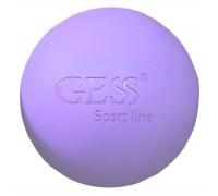Массажный мяч для фитнеса и йоги GESS-094m (диаметр 6 см)