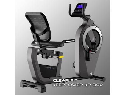 Горизонтальный велотренажер Clear Fit KeepPower KR 300