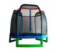 Батут DFC JUMP KIDS 7' синий, сетка (210см) 7FT-JD-B