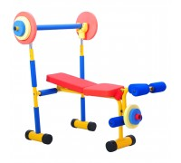 Детский тренажер скамья для жима Ортотитан (LEM-KWB001)