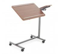 Прикроватный столик Мед-Мос ПС-001 (коричневый)