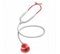 Стетоскоп облегченный Acoustica Deluxe (белый с красным) MDF747XPR29