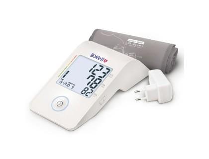 Тонометр автоматический B.Well MED-53 + адаптер, питание от Micro USB, конусная манжета M-L 22-42 см