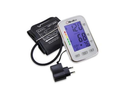 Тонометр автоматический MediTech МТ-50 для 2х пользователей, подсветка, манжета 22-40см, с адаптером