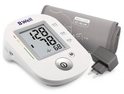 Тонометр автоматический с адаптером B.Well PRO-35 (размер манжеты М-L)