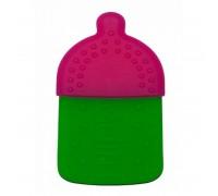 Прорезыватель для зубов Adiri Bottle Teething Ring, magenta-green, арт AD022MG-7644H