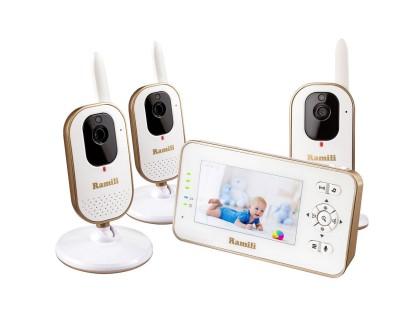Видеоняня Ramili Baby RV350X3 (в комплекте 3 камеры)