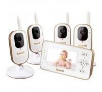 Видеоняня Ramili Baby RV350X4 (в комплекте 4 камеры)
