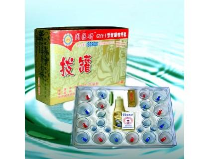 Вакуумные банки массажные с насосом - 24 шт (арт.0224)