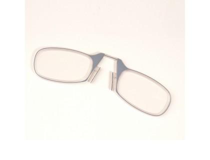 МИНИ-ОЧКИ для чтения LOOKMAKERS LM-001 (диоптрии: +3,00) цвет серый
