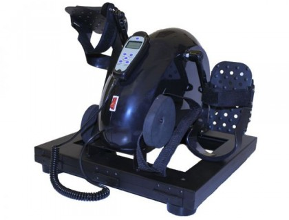 Простой педальный тренажер с электродвигателем Титан LY-901-FMB