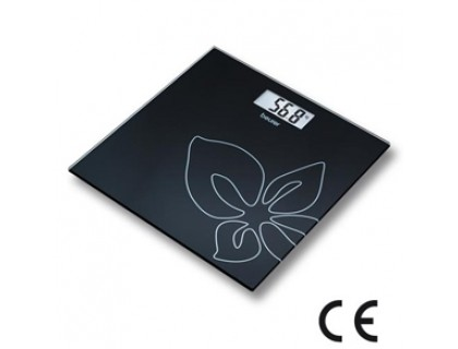 Весы напольные электронные Beurer GS27 Black Flower