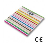 Весы напольные электронные Beurer GS27 Happy Stripes