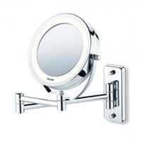 Зеркало с подсветкой и креплением в ванну